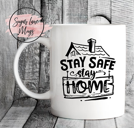 Stay Safe Stay Home NHS Mug
