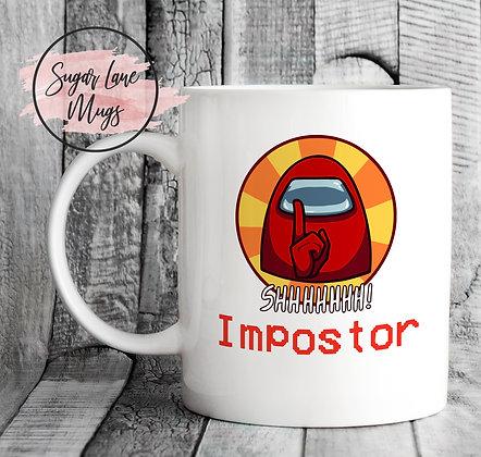 Shhhhhhh Imposter Among Us Mug