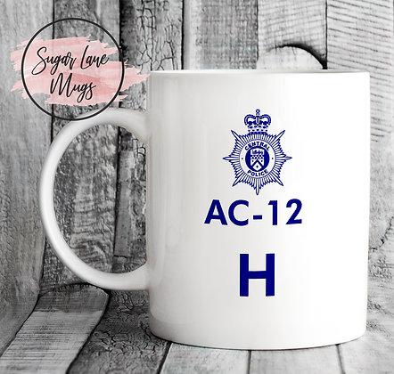 AC-12 Line of Duty H Mug