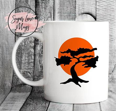 Karate Kid Cobra Kai Bonsai Mug