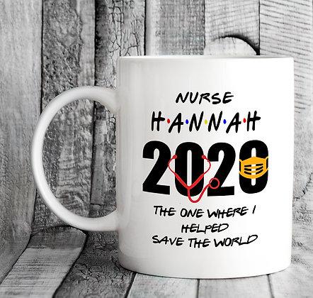 Custom Personalised Name and Title Friends Inspired 2020 Mug