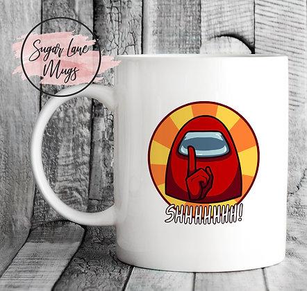 Shhhhhhh Among Us Mug