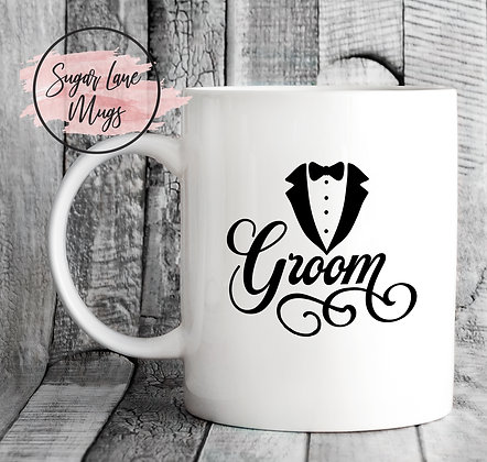 Groom Wedding Mug
