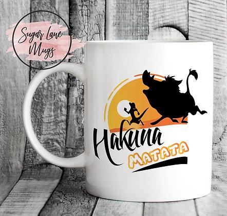 Hakuna Matata Sunset Mug