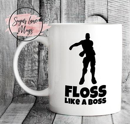 Floss Like a Boss Fortnite Mug