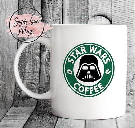 Star Wars Coffee Starbucks Style Mug