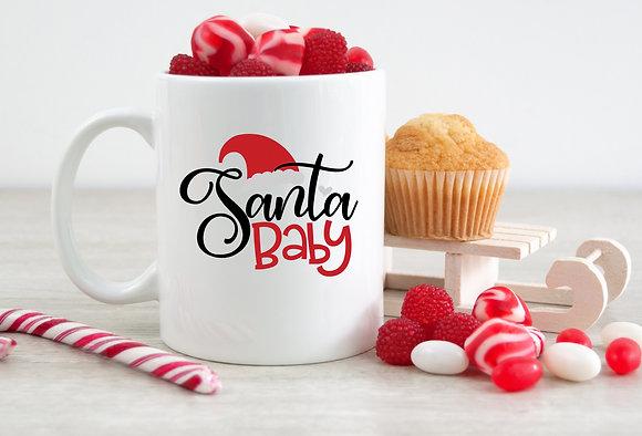 Santa Baby Christmas Mug