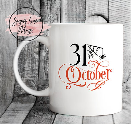 31st October Halloween Mug