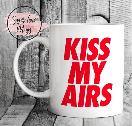 Kiss My Airs RED Sneakerhead Mug