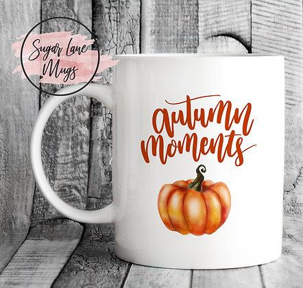 Autumn Moments Pumpkin Mug