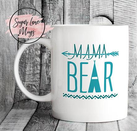 Mama Bear Mothers Day Mug