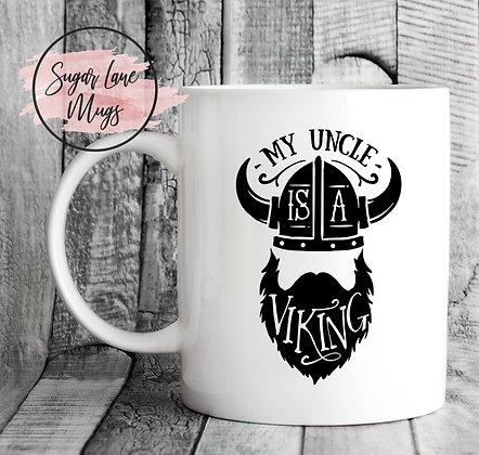My Uncle Is a Viking Beard Mug