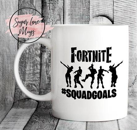 Fortnite Squad Goals Mug