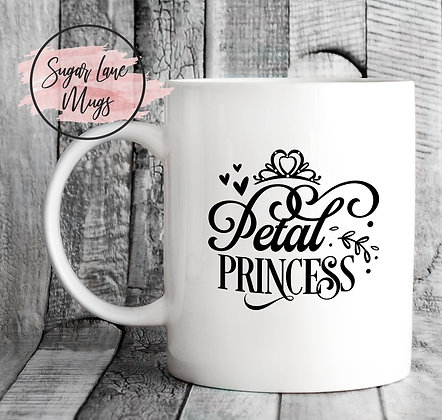 Petal Princess Wedding Mug