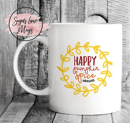 Happy Pumpkin Spice Season Mug