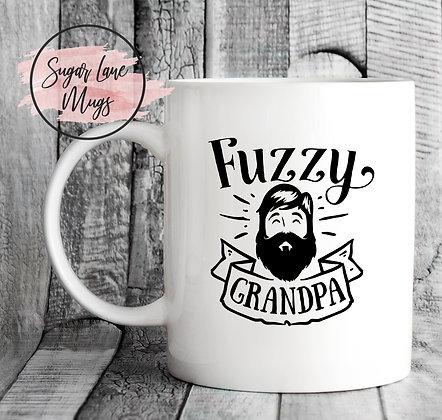 Fuzzy Grandpa Beard Mug