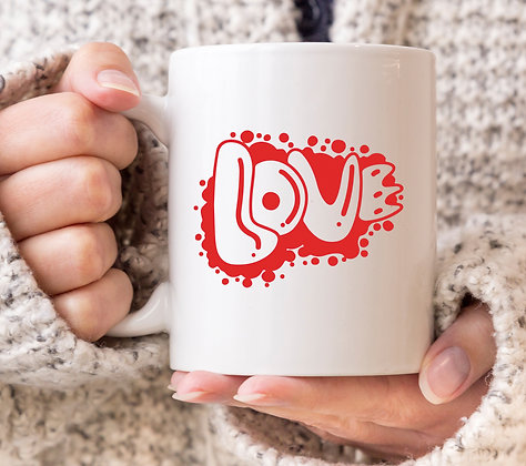 Love Valentines Mug