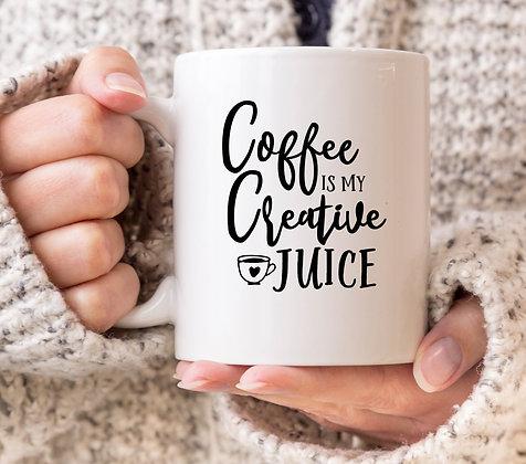 Coffee is My Creative Juice Mug