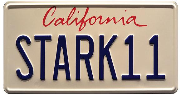 Ironman STARK 11  License Plate
