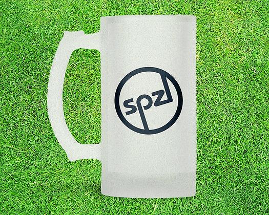 SPZL Round 16oz Frosted Beer Stein
