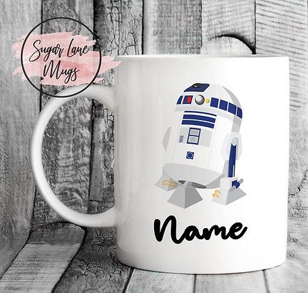 Custom Personalised Star Wars R2-D2 Mug