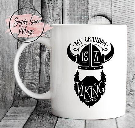 My Grandpa is a Viking Mug