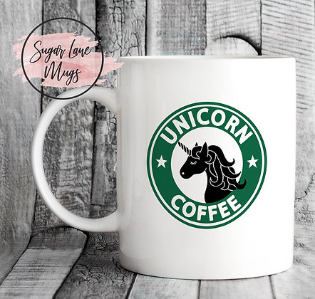 Unicorn Coffee Starbucks Style Mug