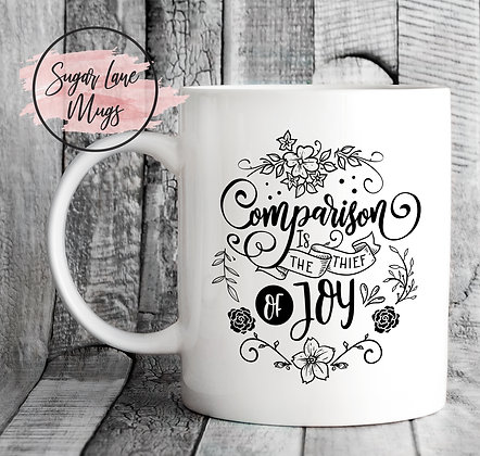 Compasion Is The Thief of Joy Inspirational Mug