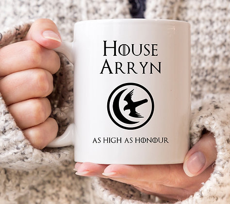 House Arryn Game of Thrones Mug