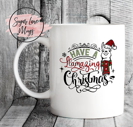 Have a Llamazing Christmas Mug