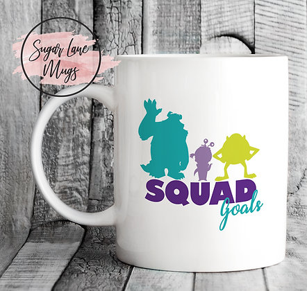 Squad Goals Monster Inc Inspired Mug