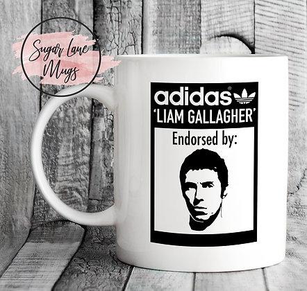Liam Gallagher Endorsed By Trainer Mug
