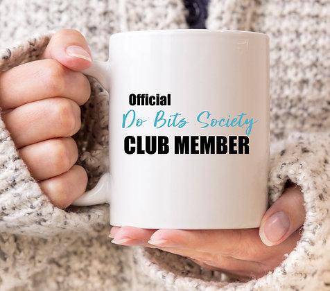 2018 Love Island Official Do Bits Society Blue Mug