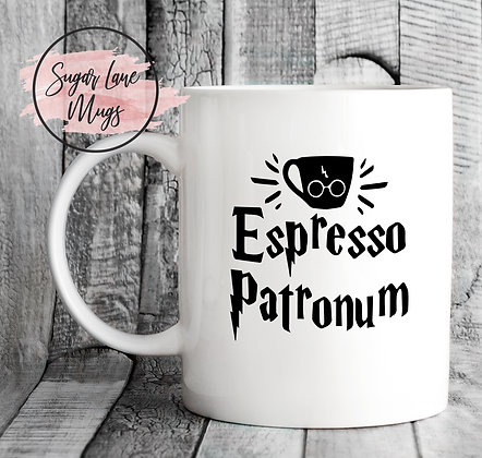 Expresso Patronum Harry Potter Mug