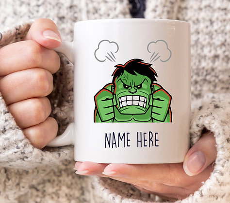 Hulk, Don't Make me Mad! Marvel Avengers Superhero Mug