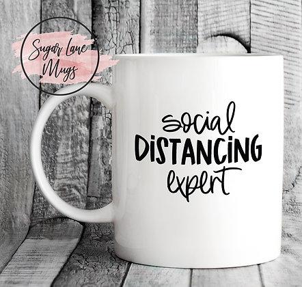 Social Distancing Expert Mug