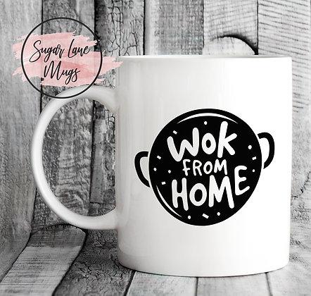 Wok From Home Quarantine Mug