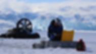 Scientific research on glacier, sea-ice, ocean in Arctic Polar regions Greenland, Svalbard, Iceland, Norway, Canada