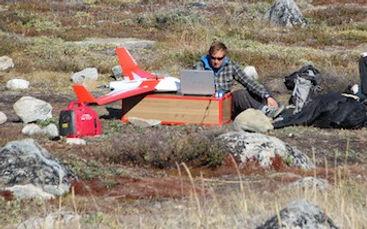 Développement de nouvelles technologies sur le terrain en milieu polaire, Arctique, Groenland, Islande, Canada, Svalba
