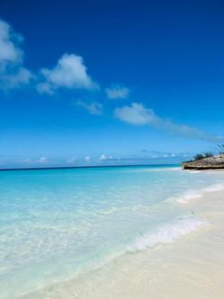 Rose Island, Bahamas beach view