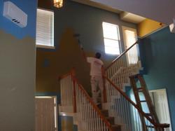 Painting drywallrepair