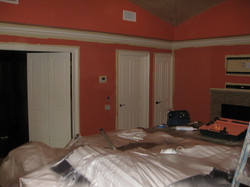 Walls and trim painting