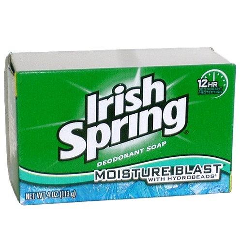 Irish Spring Bath Soap Moisture Blast