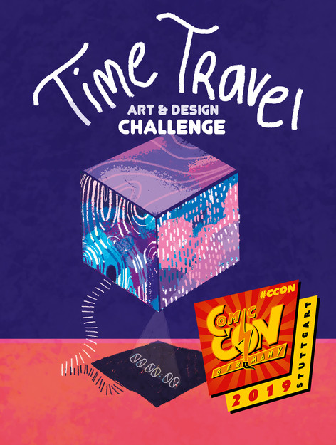 time travel art contest