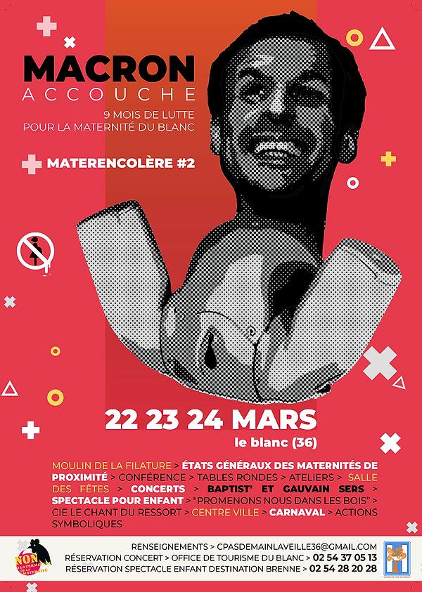 Macron accouche