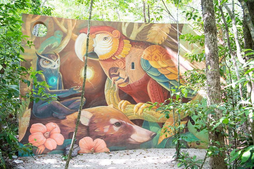 Holistika Tulum Art walk