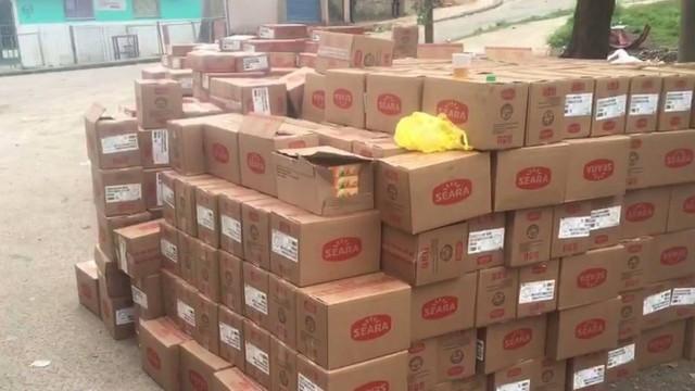 Carga roubada de produtos Seara é recuperada