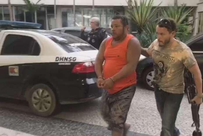 Roubo de Cargas_Chefe Rio preso