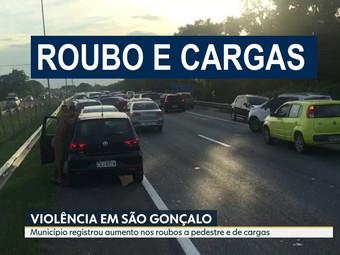 Roubos de Carga disparam e chegam a cinco por dia em São Gonçalo - RJ