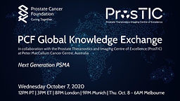 PCF Global Knowledge Exchange - Next Generation PSMA